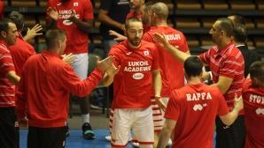 Вход свободен за мача на Лукойл Академик с Динамо Тбилиси