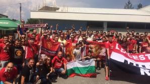 Българските фенове на Манчестър Юнайтед помагат на деца с увреждания в маратон