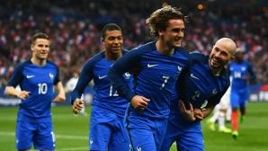 Франция ще играе контрола с Уелс през ноември