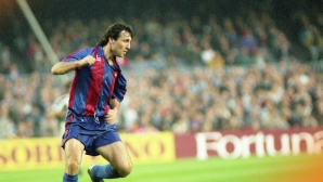 Легенда на Ман Юнайтед нареди Стоичков до Меси и Марадона