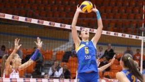 Китипова беше картотекирана в Марица Пловдив за участие в Шампионската лига