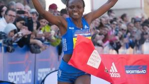 Световната рекордьорка ще бяга на полумаратона във Валенсия