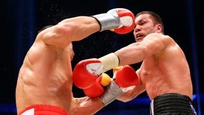 Кубрат Пулев пратил Кличко в нокдаун още в I рунд и бил много близко до победата (видео)
