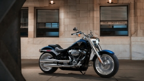 Harley-Davidson Fat Boy пристигна на Автомобилен салон София