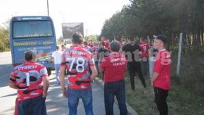 Масов бой между фенове на Левски и ЦСКА