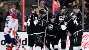 """Четвърта поредна победа за """"кралете"""" в НХЛ"""