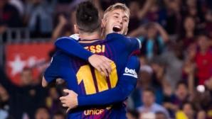 6 години след дебюта си той най-накрая вкара за Барселона, макар и…