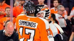 Симъндс донесе пета победа на Филаделфия с късен гол срещу Едмънтън