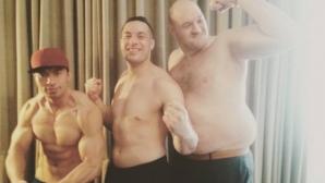 Тайсън Фюри удари 160 кг