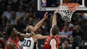 Сан Антонио остана с перфектен баланс в НБА