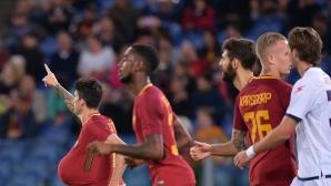 Съмнителна дузпа донесе нова победа на Рома (видео)