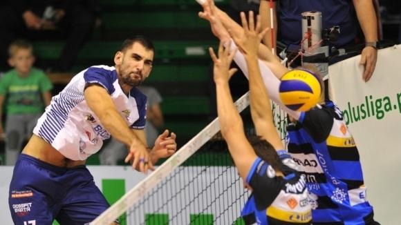 Златан Йорданов с 10 точки, Бенджин с драматична 3-а победа в Полша