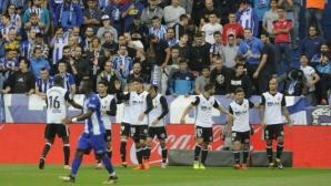 """Валенсия – отборът в топ форма на Европа, владее и """"другия"""" футбол"""