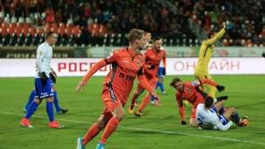Отличен мач за Хичо срещу Динамо (Москва) (видео)