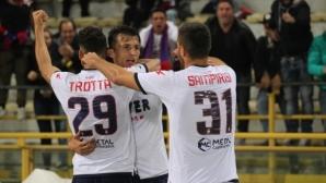 Тимът на Тонев обърна Болоня в мач с пет гола