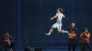 Хърватия нокаутира Гърция в Загреб, докосва Мондиал 2018 (видео)