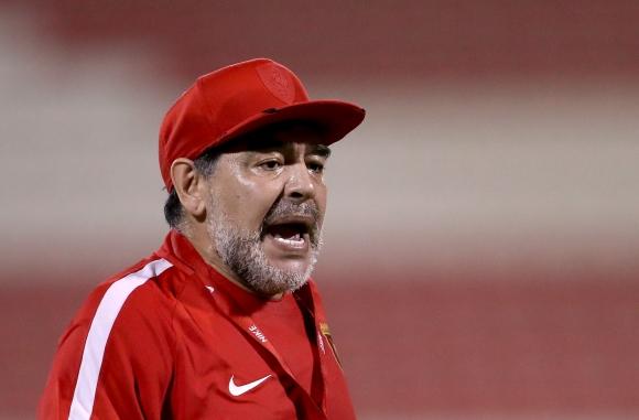 Марадона бесен, готов пак да поеме Аржентина
