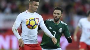 Мексико надви Полша (видео)