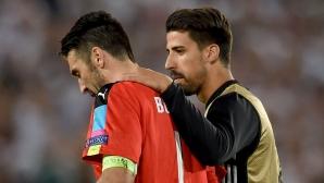Кедира: Ще помогна на Буфон да спечели Шампионската лига