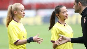 Християна Гутева с наряд във Втора лига
