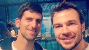 """Звезда от """"Под прикритие"""" тренира с Джокович"""