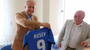 Спас Русев гледал на живо победата на Григор Димитров