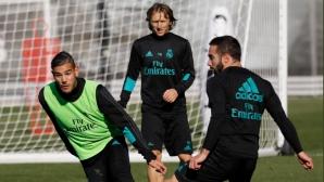 Дани Карвахал е готов за големия мач (групата на Реал Мадрид)