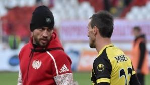 В Пловдив разкриха голям скандал: Човек от ЦСКА-София ударил глава на Минев след мача