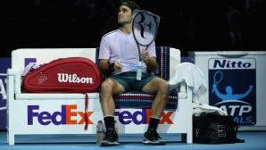 Федерер: Разочароваща загуба, но имах невероятен сезон