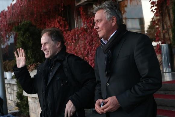 Франко Барези пристигна в София