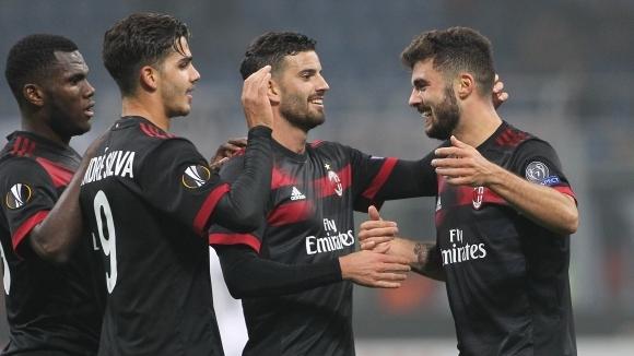 Милан се развихри и спечели групата (видео)