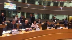 Красен Кралев говори пред Съвета на ЕС