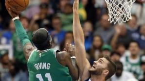 Кайри Ървинг избухна с 47 точки за 16-ата поредна победа на Бостън