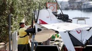 Самолетът на Халадей се издигнал рязко, преди да се разбие