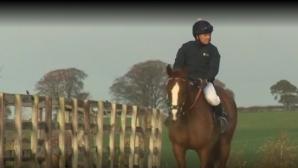 Майкъл Оуен се подготвя за кариера в конния спорт