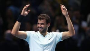 И шефът на руския тенис се възхити на Григор Димитров
