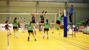 Волейболистките на Левски спечелиха дербито с Берое