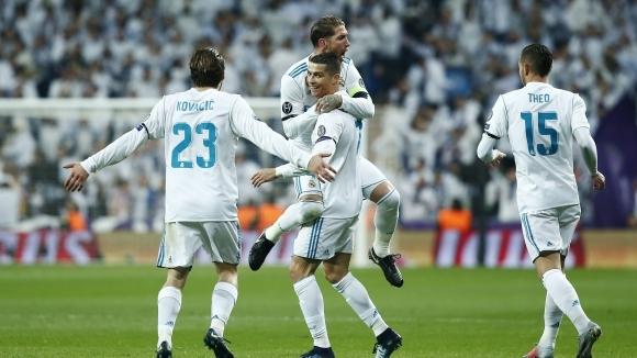 Кристиано покори нов връх, Реал Мадрид спечели в мач с много голове (видео + галерия)