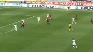 Шедьовър от турското първенство (видео)