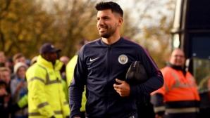 Агуеро: Щастлив съм в Манчестър Сити, това е най-доброто първенство