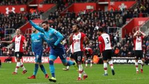 Златната резерва на Венгер спаси Арсенал от нова загуба (видео)
