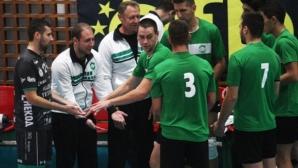Петър Мечкаров: Играхме равностойно, но ни липсваше прецизност