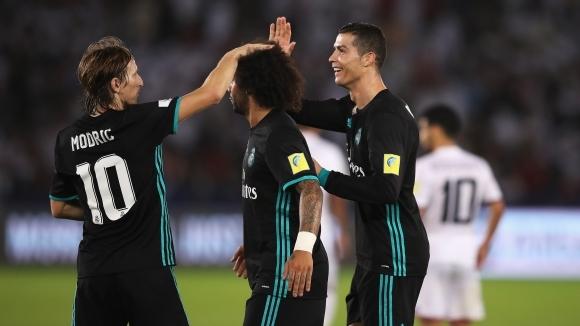 Реал Мадрид се спаси от шумен резил срещу нахъсани араби (видео + галерия)