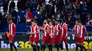 Жирона спечели каталунското дерби с Еспаньол (видео)