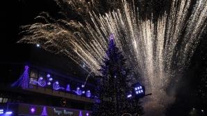 Най-перспективният футболист на Лудогорец запали елхата в Разград