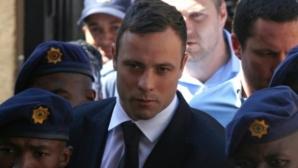 Набиха Оскар Писториус в затвора