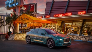 Jaguar I-Pace завърши кондиционната си подготовка в Лос Анджелис