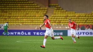 Монако не срещна проблеми по пътя към 1/4-финала за Купата на лигата