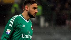 Донарума остава в Милан, цената му е 70 млн.
