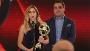 Магия в съблекалнята на женския национален отбор на България (видео)